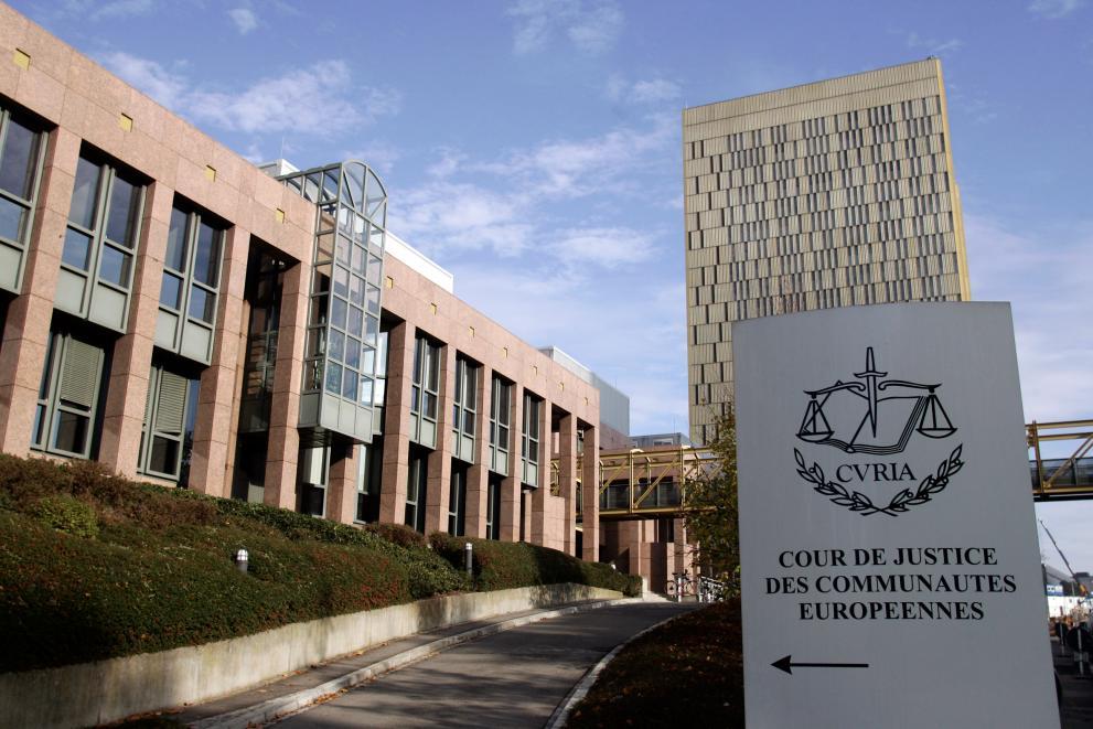 Le bâtiment abritant la cour de justice des CE